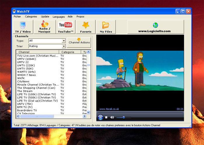 Logiciel tv plus de 3000 chaines tv logiciel pour - Logiciel pour couper musique mp3 gratuit ...
